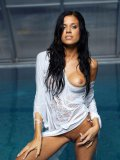 The Wet Blouse Worn By Hot Klara Smetanova Doesn???t Hide Her Treasures From Us