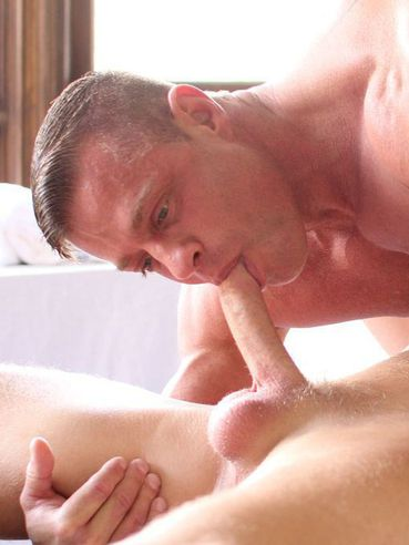 Christopher Daniel Gets A Great Hot Rock Massage In Exchange For Giving Up His Tight Asshole