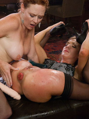 Nasty Audrey Hollander Works Out Amy Brooke's Ass So Much That It Turns Red And Swollen.
