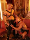 Garcia Udulo, Glenn Santoro, Lucio Maverick And Rod Stevens Love Leather And Foursome Gay Orgy