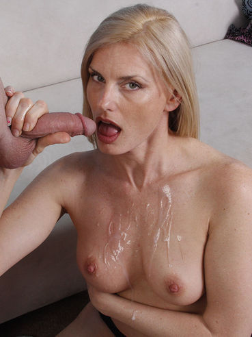 Experienced Woman Darryl Hanah Is Skillfully Licking Cock And Making It Explode