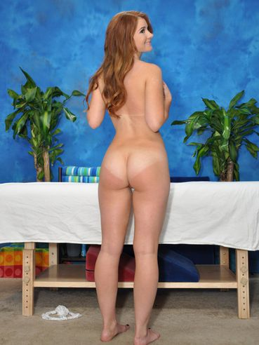 Petite Ginger Teen Ava Sparxxx Comes In Regularly For An Oil Massage And Hardcore Shagging.