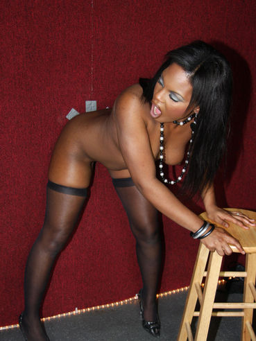 Coffee Brown Is A Juicy Black Ass Babe Who Loves To Gobble On Dicks Performing Oral Sex
