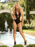 Insanely Hot Blonde Crystal Klein Poses In Her Swimsuit Outdoors And Takes A Dip In The Pool Nak